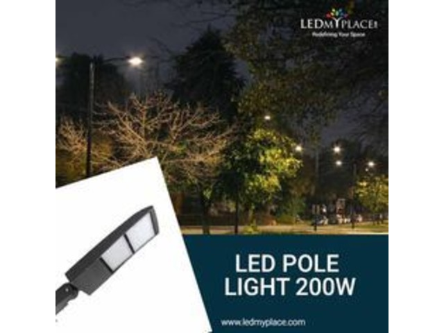 Install LED Pole Lights And Save Environment-Hurry Now   free-classifieds-usa.com