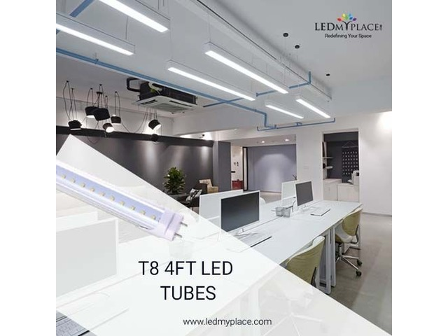 Use Hybrid T8 4ft LED Tubes without Existing Fixtures | free-classifieds-usa.com