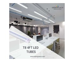 Use Hybrid T8 4ft LED Tubes without Existing Fixtures