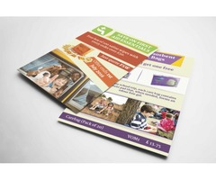 I will design stunning business handouts