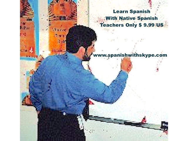 Spanish With Native teacher -Spanish Lessons Online | free-classifieds-usa.com
