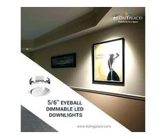 Purchase 5/6'' LED Downlights For Better Interior Lighting
