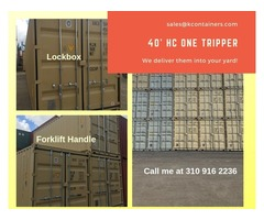 40' HC ONE TRIPPER CONTAINER FOR SALE