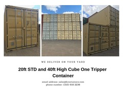 20ft STD and 40ft HC One Tripper Container