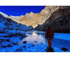 Get 5 percent discount on Chadar Trek In Zanskar 2019