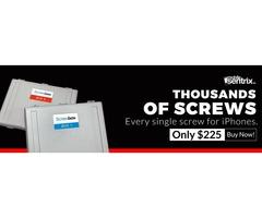 Complete iPhone Screw Box at Mobilesentrix