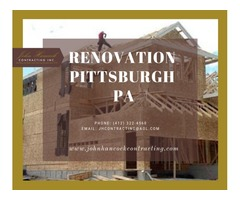 Renovation Pittsburgh PA
