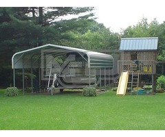 Economical Regular Roof Carports for Sale in North Carolina