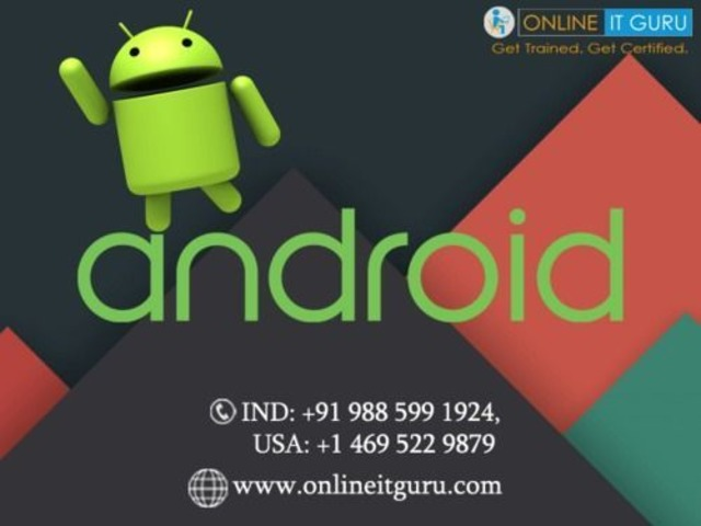 Android Online Training | Android Development Online Course in India | Online IT Guru | free-classifieds-usa.com