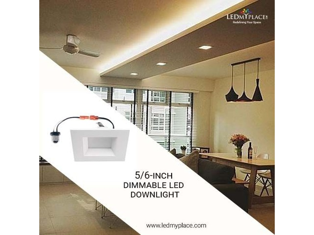 Used 5/6 Inch Dimmable LED Downlight Easy To Install & Operate | free-classifieds-usa.com