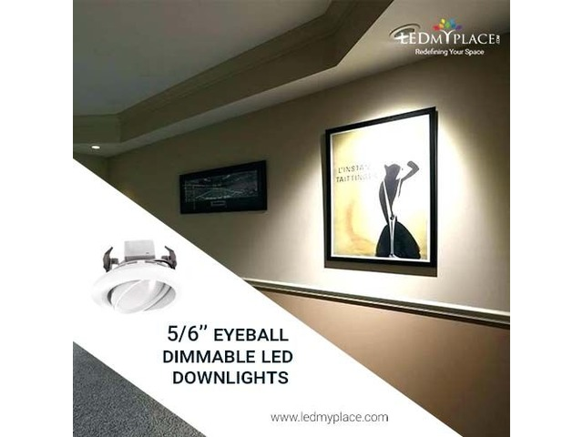Buy 5/6'' LED Downlights For Interior Lighting- At Discount | free-classifieds-usa.com
