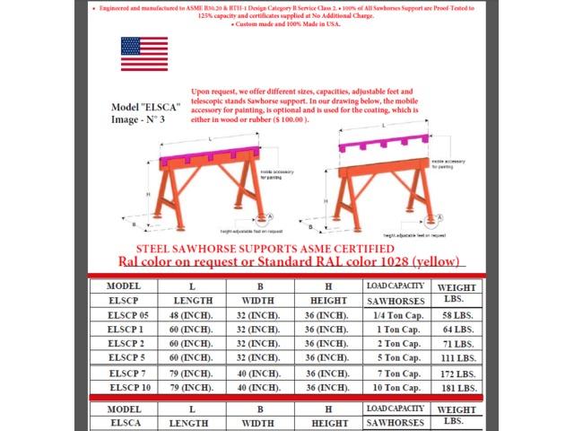 Sawhorse custom made United States | free-classifieds-usa.com