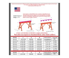 Sawhorse custom made United States