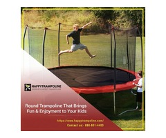 Shop Best Rated Outdoor Trampoline in USA | Happy Trampoline