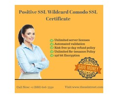Comodo Positive Wildcard SSL Certificate at $94.95 For 1 Year