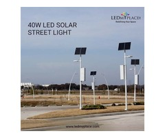Buy Now 40 Watt LED Solar Street Light to Save More on Energy Bills