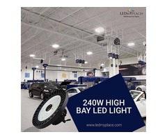 Get Excellent UFO LED High Bay Lights at High Ceiling Areas