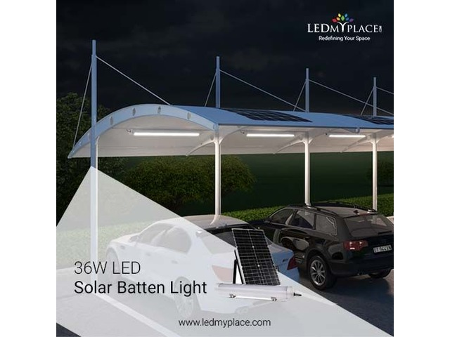 Buy Now LED Solar Batten Light to Save More On Energy Bills | free-classifieds-usa.com