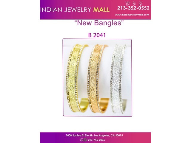 Stones With Diamond Cut 3 Day Bangles Fin De Semana | free-classifieds-usa.com