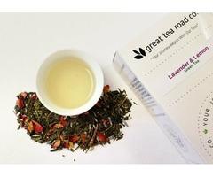 Lavender & Lemon Green Tea