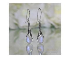 Moonstone Earring - CALLISTO - GSJ
