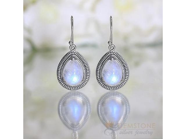 Moonstone Earring - ALMOND BLISS - GSJ | free-classifieds-usa.com