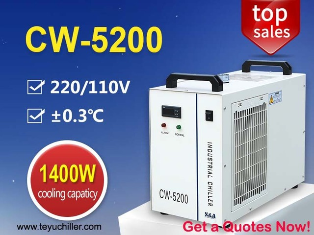Industrial Air Cooled Chiller CW 5200  | free-classifieds-usa.com