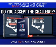 LOOKING FOR 50 ACTION TAKERS TO MAKE THEIR FIRST $1000 ONLINE