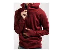 Tidebuy Hooded Slim Fit Mens Hoodie