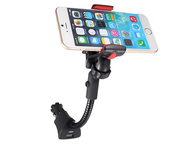 USB Car Cigarette Lighter Charger Clip Mount Holder For iPhone Samsung | free-classifieds-usa.com