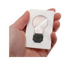 5pcs Portable LED Card Light Pocket Lamp Purse Wallet Emergency Light | free-classifieds-usa.com