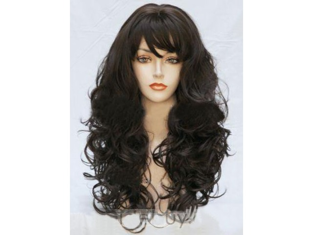 Bouncy Long Wavy Synthetic Hair Wig 22 Inches | free-classifieds-usa.com