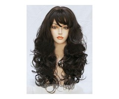 Bouncy Long Wavy Synthetic Hair Wig 22 Inches