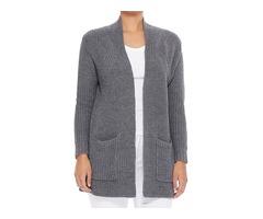 YeMAK Sweater | Women's Stylish Drape Long Sleeve Sweater Cardigan Jacket with Two Pockets HK8189