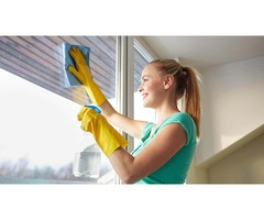Maid for cleaning services