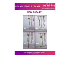 Gold Plated Rosary-Indian Jewelry Mall