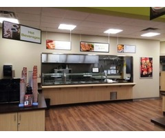 Cafeteria Signage Displays & Menu Boards