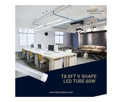 Buy T8 8ft LED Integrated Tube 60W For Best Indoor Illumination
