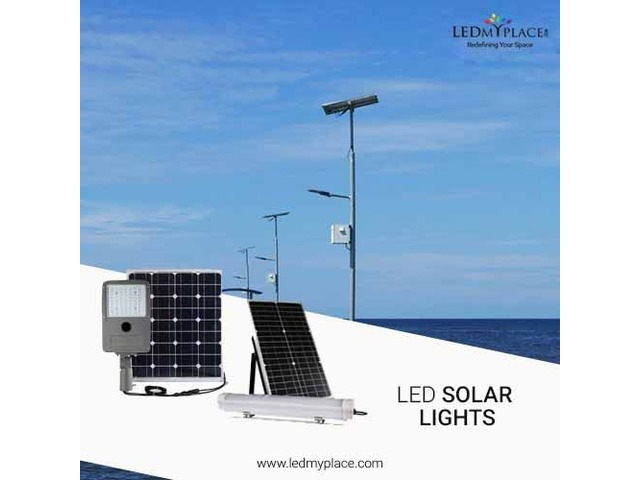 Make Outdoor Areas More Beautiful By Installing LED Solar Lights | free-classifieds-usa.com