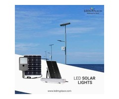 Make Outdoor Areas More Beautiful By Installing LED Solar Lights