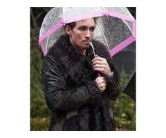 Robert Sheehan Fur Coat