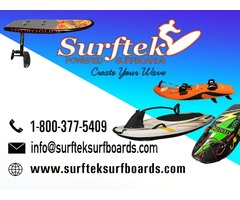 Surfboards with Motor Carbon Fibre Jet Board