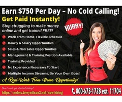 Sales and Non Sales Inbound Call Center. $500 per Day