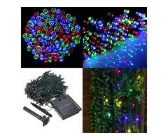 400 LED Solar Powered Fairy String Light Garden Party Decor Xmas