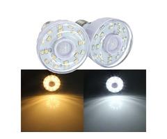 E27 2W 23 SMD 3528 Pure/Warm White PIR Motion Sensor LED Light Lamp Bulb