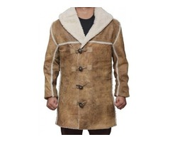 Hell On Wheels Distressed Coat