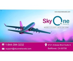 Affordable ticket buys  with Sky One Travels