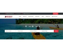 Travel Portal Website Development | Travel Activity Booking Software