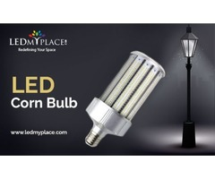 Install Powerful 100 Watt LED Corn Bulb At The Commercial Places