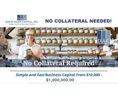 Simple & Fast Business Capital (NO COLLATERAL)